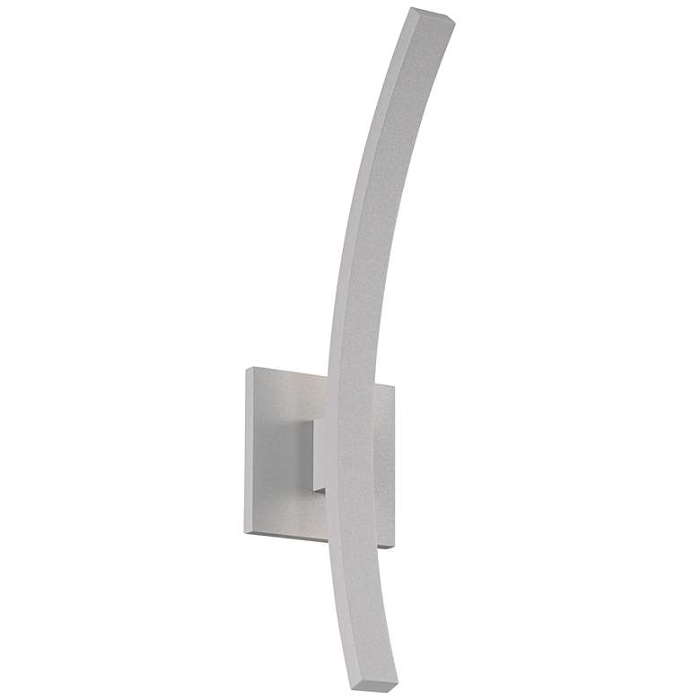 "L'Arc Petite 18""H Gray 1400 Lumens LED Outdoor Wall Light"