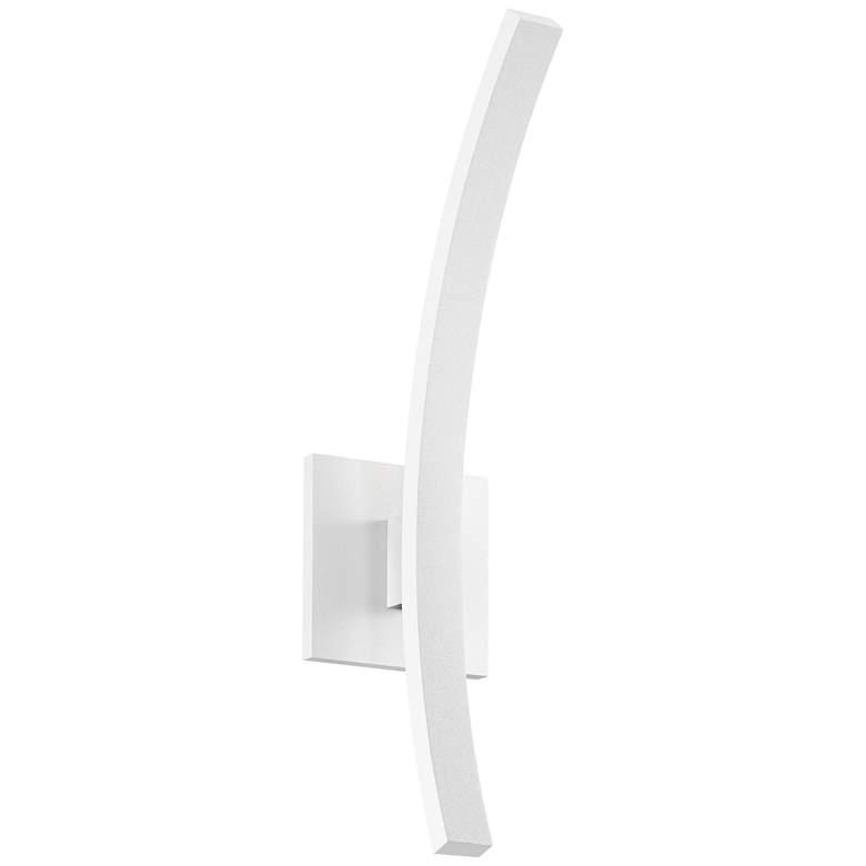 "L'Arc Petite 18""H White 1400 Lumens LED Outdoor"