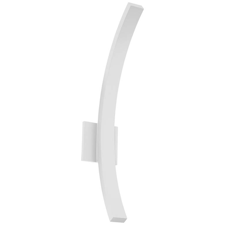 """L'Arc Grand 24""""H White 1580 Lumens LED Outdoor Wall Light"""
