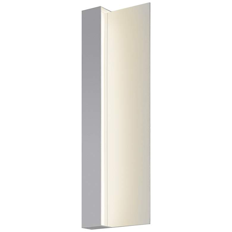 "Radiance 20"" High Textured Gray LED Outdoor Wall Light"