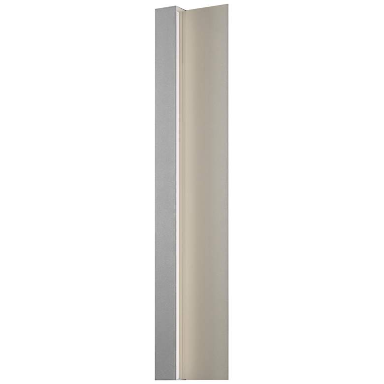 "Radiance 30"" High Textured Gray LED Outdoor Wall Light"