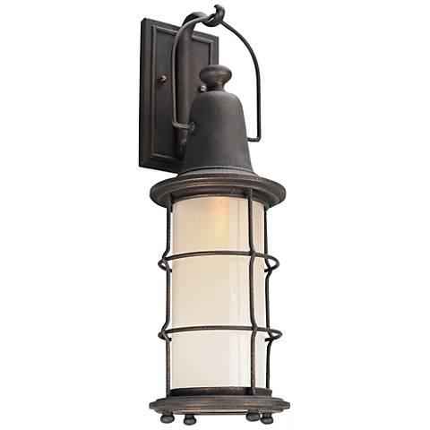 "Maritime 23"" High Vintage Bronze LED Outdoor Wall Light"