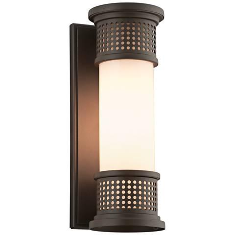 """Mcqueen 13"""" High Bronze Outdoor Wall Light"""