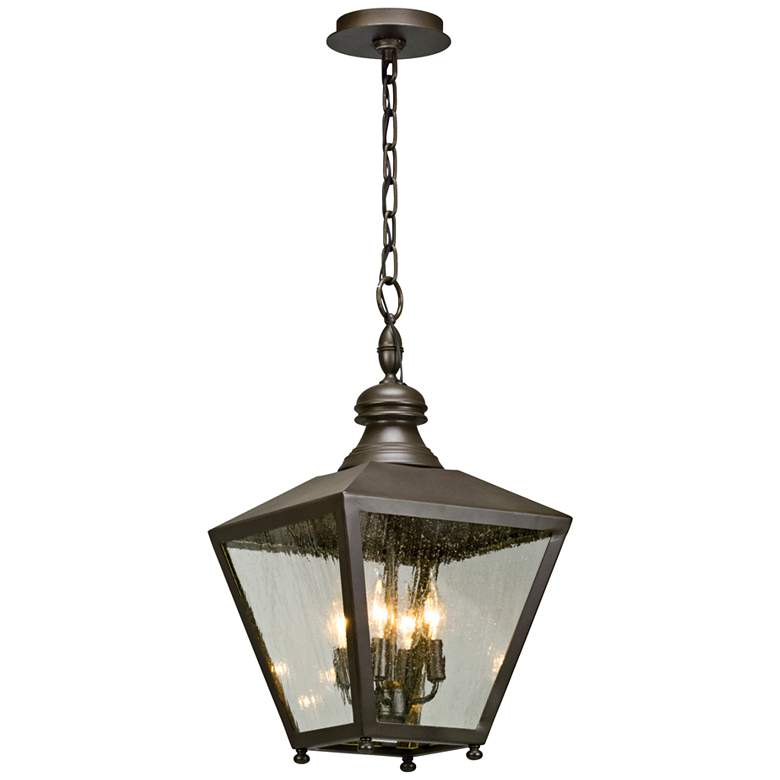 "Mumford 22""H Bronze Outdoor Hanging Light"
