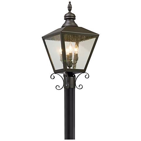 "Mumford 21 3/4"" High Bronze Outdoor Post Light"