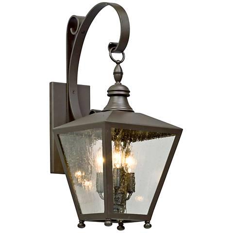"""Mumford 22"""" High Bronze Outdoor Wall Light"""