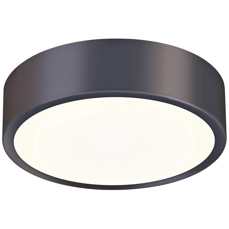 """Sonneman Pi 8"""" Wide Black Bronze LED Ceiling Light"""