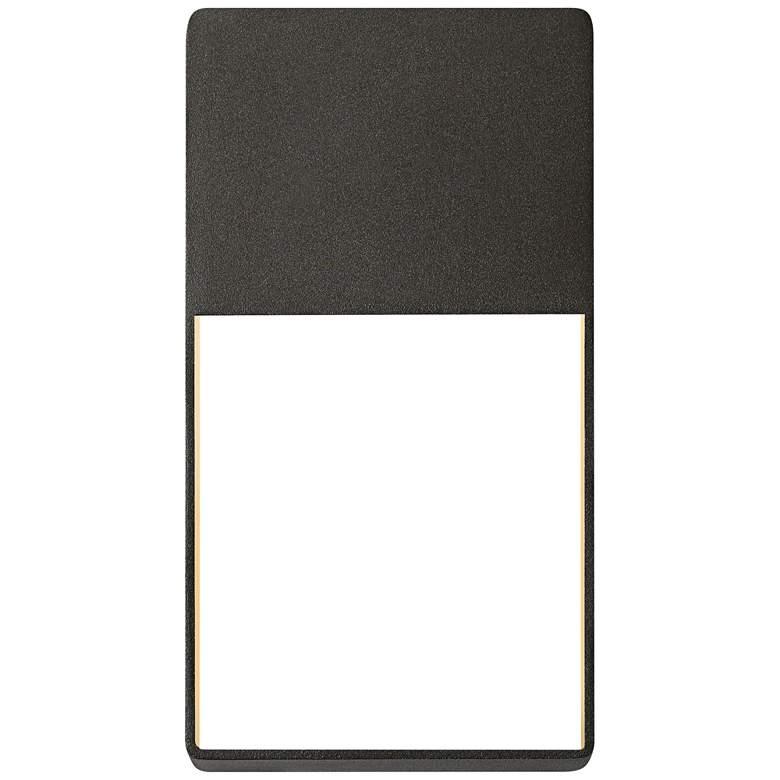 """Light Frames 13""""H Textured Bronze LED Outdoor Wall Light"""