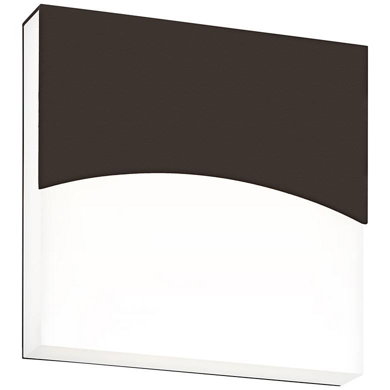 """Sonneman Aku 7""""H Textured Bronze LED Outdoor Wall Light"""