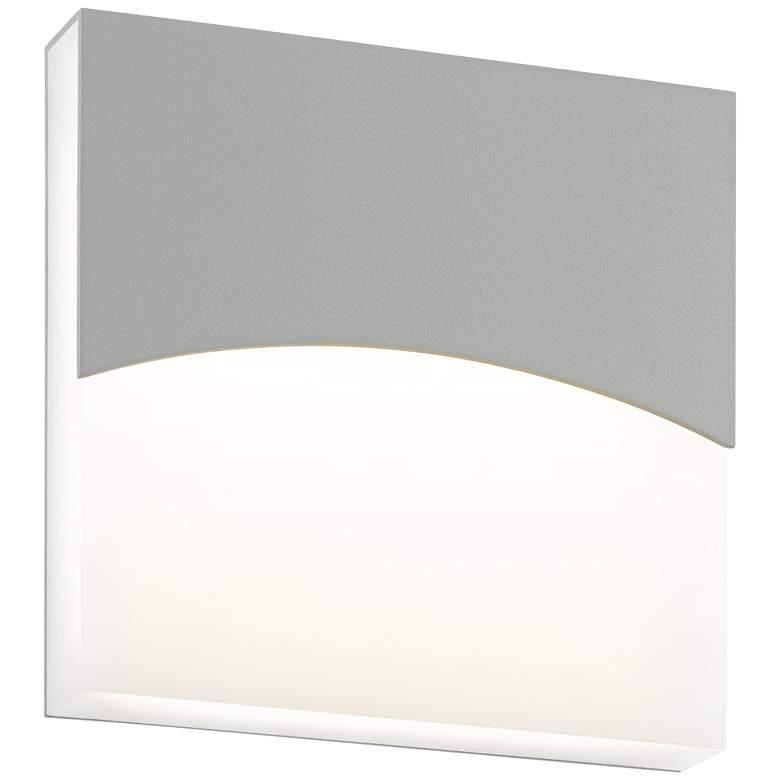 "Sonneman Aku 7""H Textured Gray LED Outdoor Wall Light"