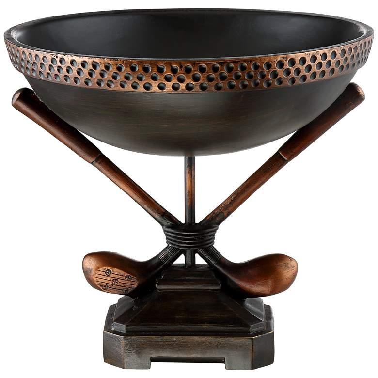 Blasdell Vintage Golf Decorative Bowl