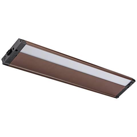 "Kichler 4U 22"" Wide Textured Bronze LED Under Cabinet Light"