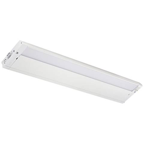 "Kichler 4U 22"" Wide Textured White LED Under Cabinet Light"