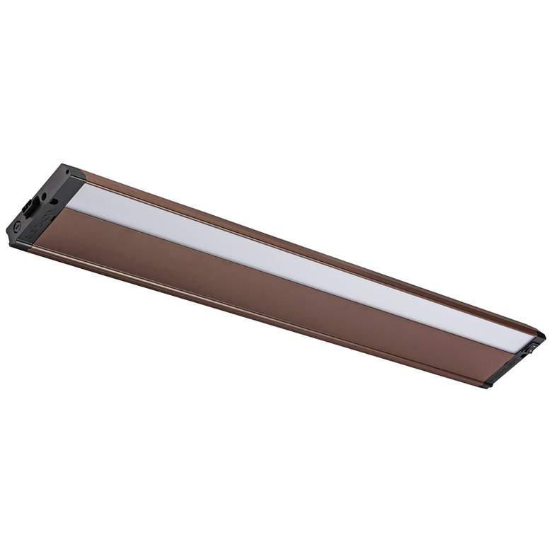 "Kichler 4U 30"" Wide Textured Bronze LED Under Cabinet Light"
