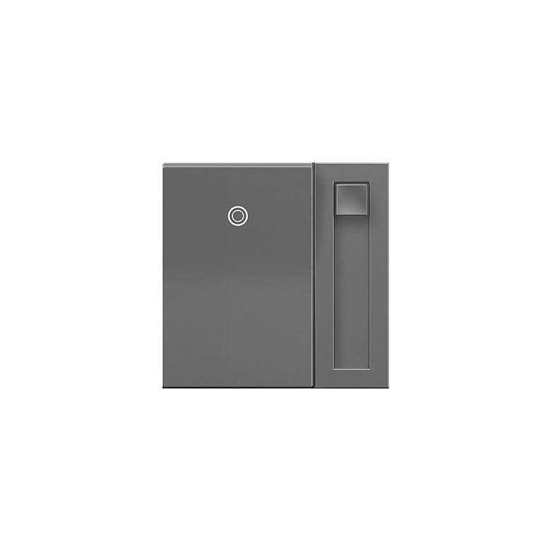 adorne® SofTap Magnesium Tru-Universal Dimmer Switch