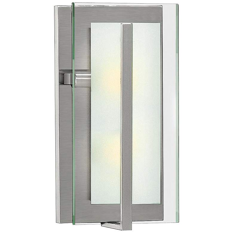 "Hinkley Latitude 16"" High Brushed Nickel Wall Sconce"