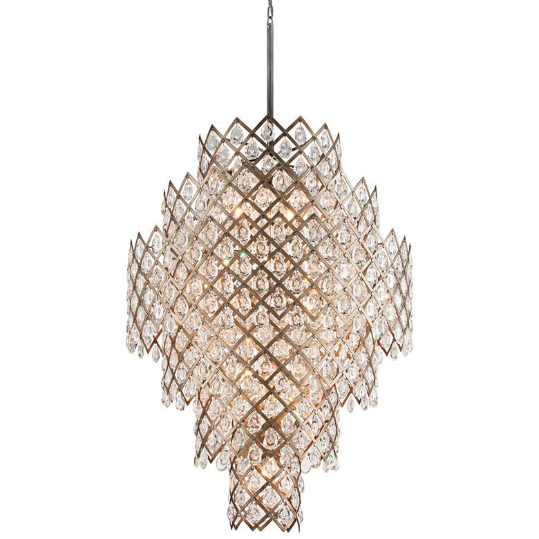 "Corbett Tiara 44 3/4"" Wide Vienna Bronze Pendant Light"