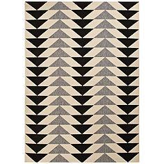 """Jaipur Patio Gray 5'3""""x7'6"""" Indoor/Outdoor Area Rug"""