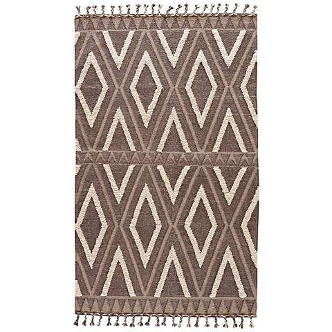 Jaipur Kokoda Wool and Cotton Fringe Area Rug