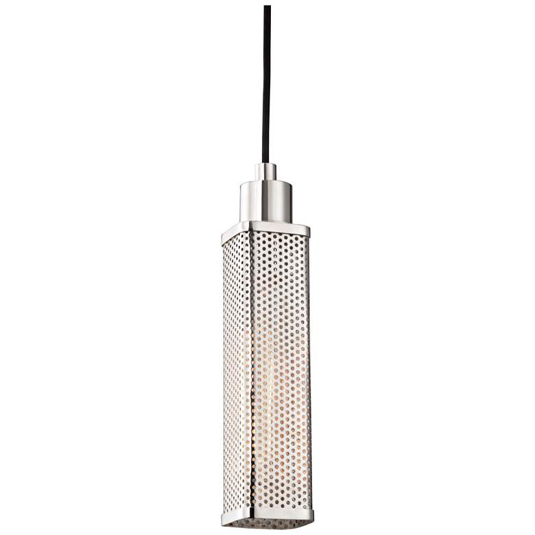 "Hudson Valley Gibbs 2 3/4""W Polished Nickel Mini Pendant"