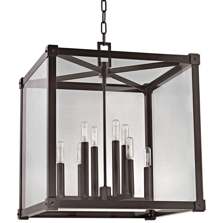 """Hudson Valley Forsyth 20 1/4"""" Wide Old Bronze Pendant Light"""