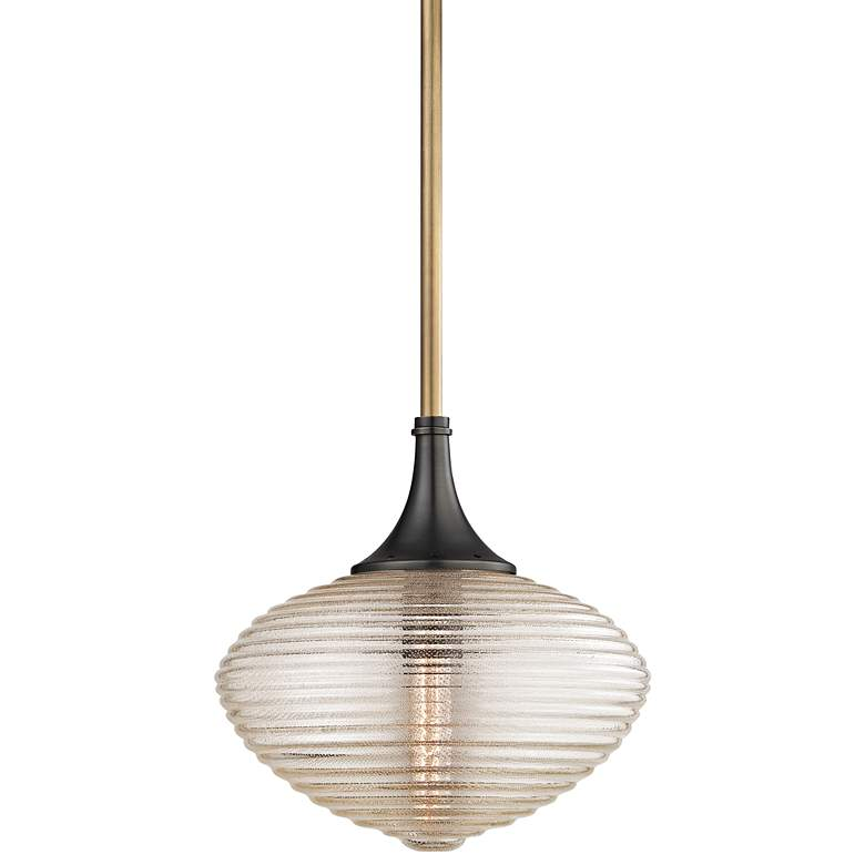 """Hudson Valley Knox 16"""" Wide Aged Old Bronze Pendant Light"""