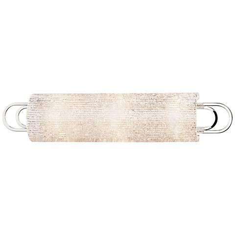 "Hudson Valley Buckley 25"" Wide Polished Nickel Bath Light"