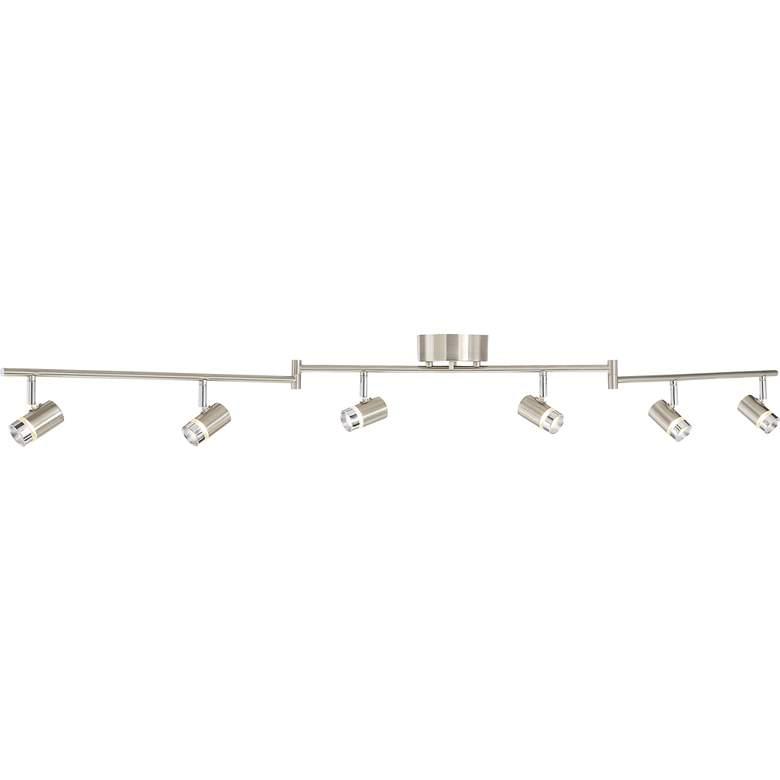 Pro Track® Max 6-Light Satin Nickel LED Track Fixture