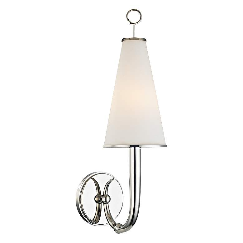 "Hudson Valley Colden 21"" High Polished Nickel Wall Sconce"