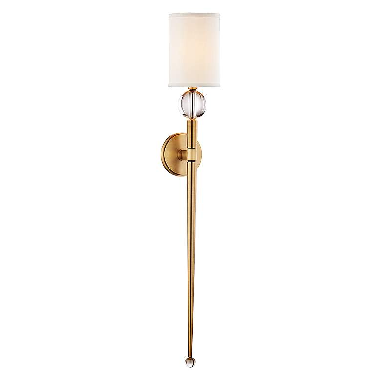Holtkoetter Voila 9 1 4 Quot Wide Brushed Brass Wall Sconce