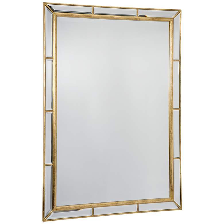 "Regina Andrew Plaza Gold Leaf 29""x41"" Mirror"