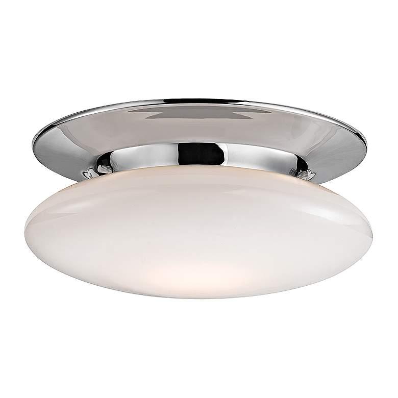 "Irvington 12"" Wide Polished Chrome LED Ceiling Light"