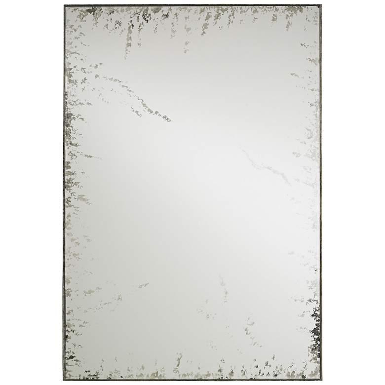 "Currey and Company Rene Bronze 24"" x 34"" Wall Mirror"