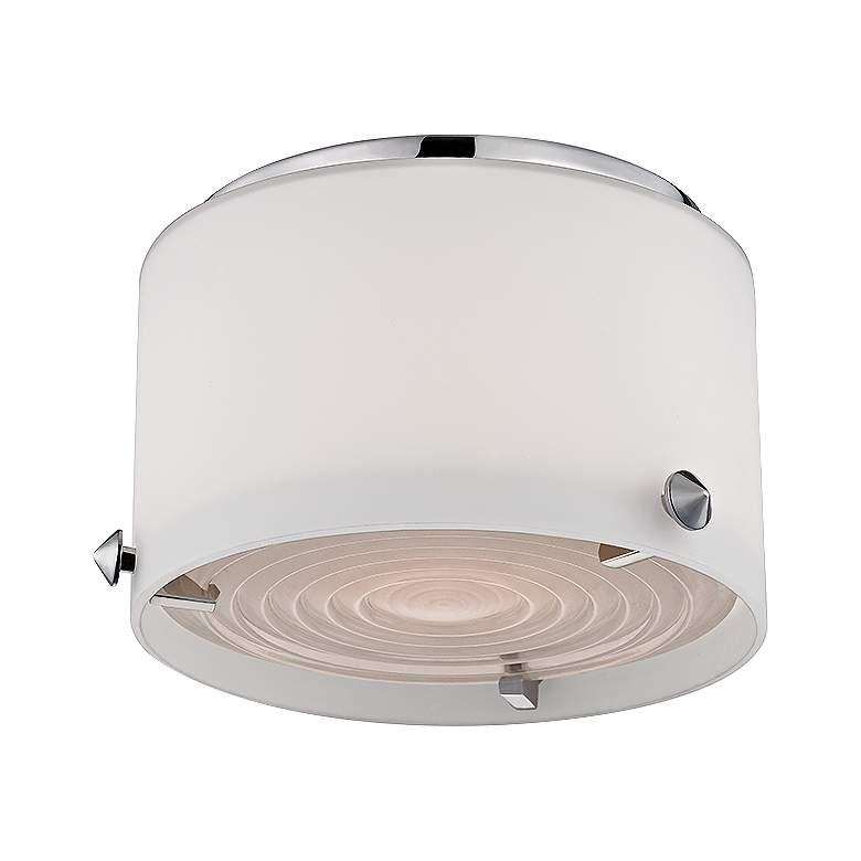 "Blackwell 6"" Wide Polished Nickel LED Ceiling Light"