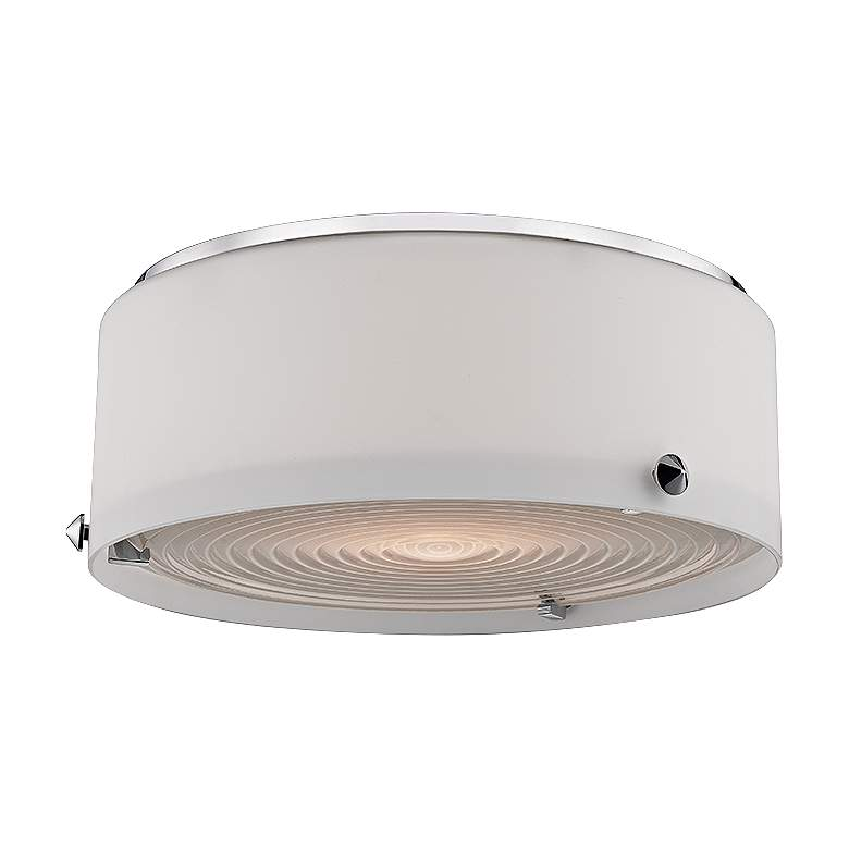 "Blackwell 10"" Wide Polished Nickel LED Ceiling Light"