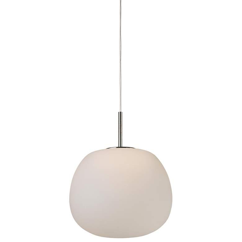 "ET2 Puffs 6 1/4"" Wide White LED Mini Pendant"