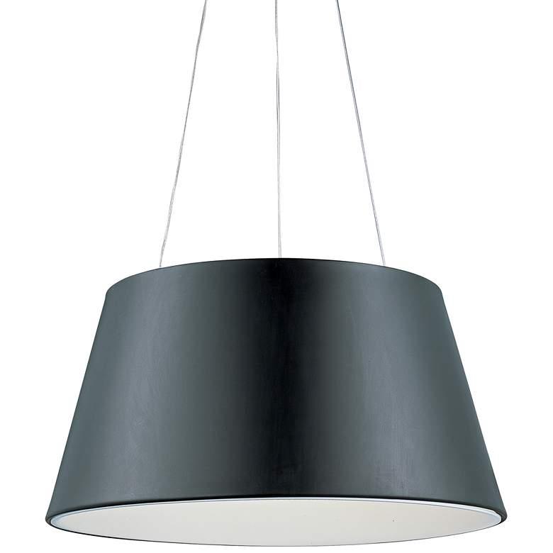 "ET2 Quantum 24"" Wide Black LED Pendant Light"