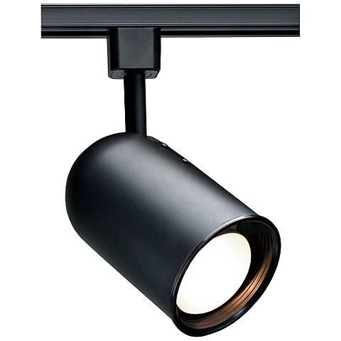 Nuvo Lighting 120V Black R20 Bullet Cylinder Track Head