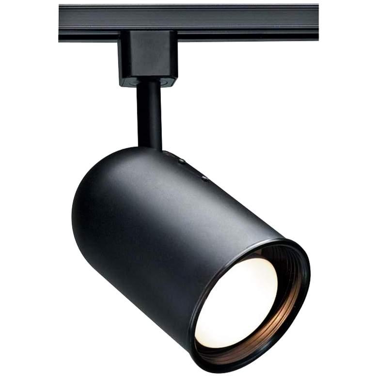 Nuvo Lighting 120V Black R30 Bullet Cylinder Track Head