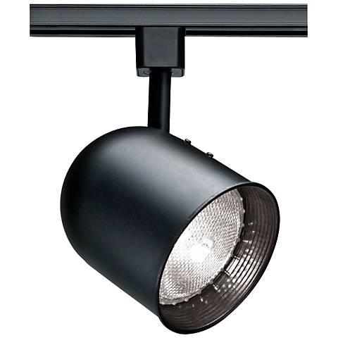 Nuvo Lighting 120V Black PAR30 Short Bullet Track Head