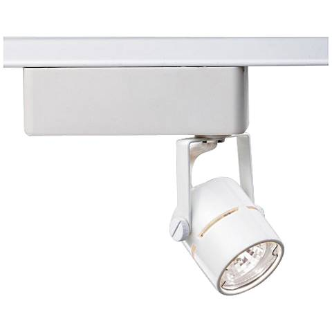 Nuvo and Halo Lighting 12V White MR16 Round Track Light Head