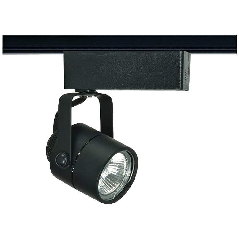 Nuvo Lighting 12V Black MR16 Round Track Light Head