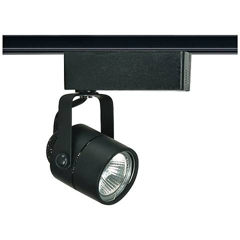 Nuvo Lighting 12V Black MR16 Round Track Light Head