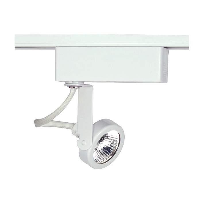 Nuvo Lighting 12v White Mr16 Gimbal Ring Track Light Head 9r561 Lamps Plus
