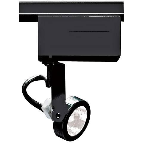 Nuvo Lighting 12V Black MR16 Gimbal Ring Track Light Head