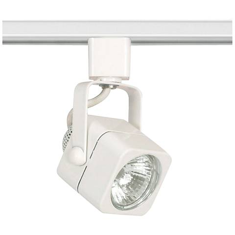 Nuvo Lighting Mr16 White Up And Down Square Track Head