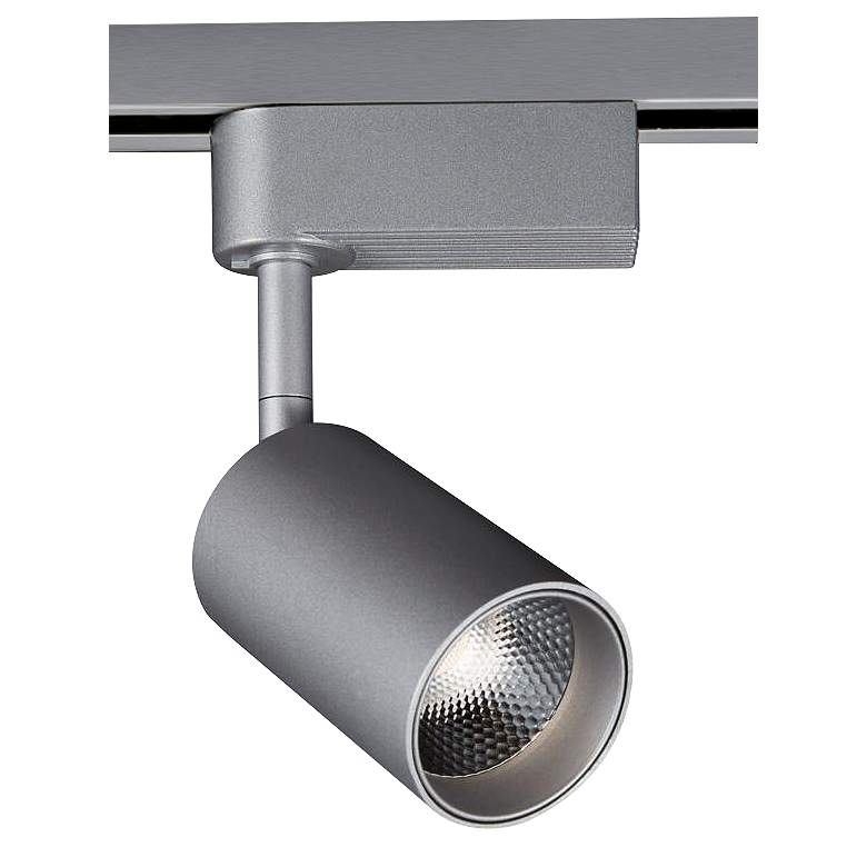 """Silver 3 1/2""""W Dimmable 8W LED Lightolier Track Head"""