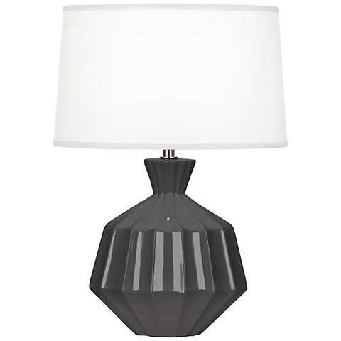 "Robert Abbey Orion 17 3/4""H Ash Ceramic Accent Lamp"