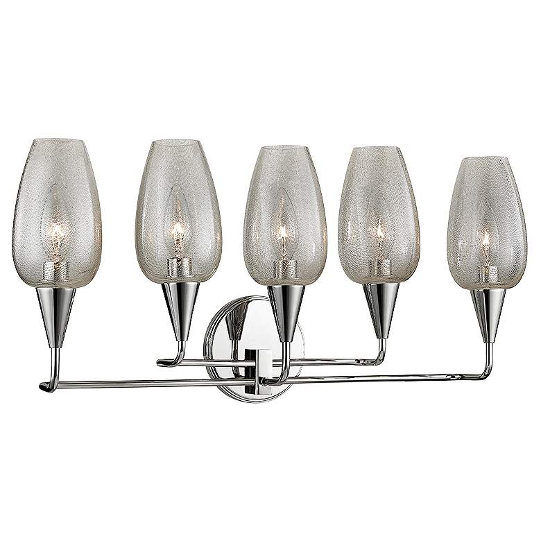 """Hudson Valley Longmont 11"""" High Polished Nickel Wall Sconce"""