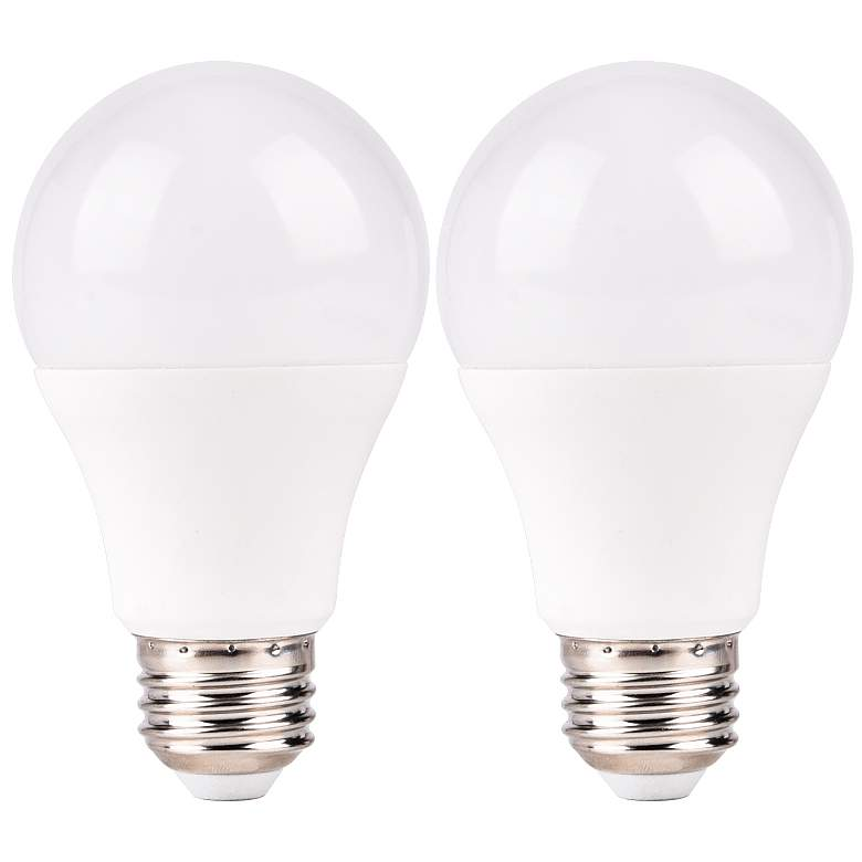 75W Equivalent Frosted 9W LED Non-Dimmable Standard 2-Pack